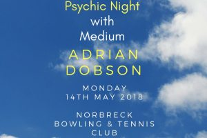 Adrian Dobson Psychic Night at Norbreck Club