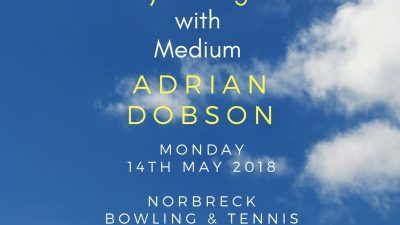 Adrian Dobson Psychic Night at Norbreck Club