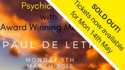 Psychic Nights at the Norbreck Club