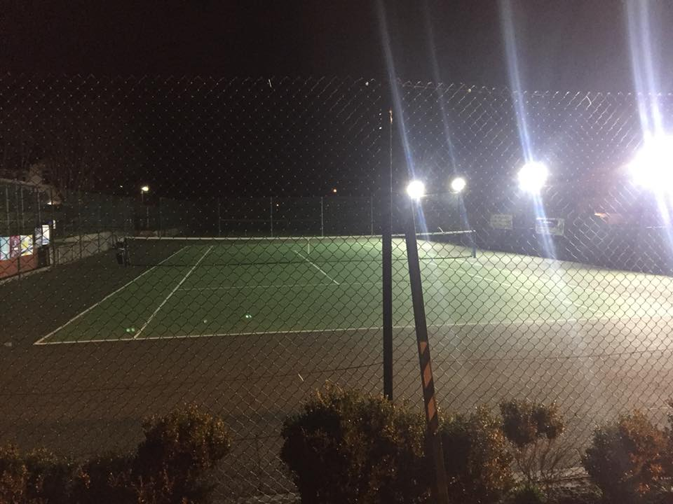 Floodlights Tennis Courts