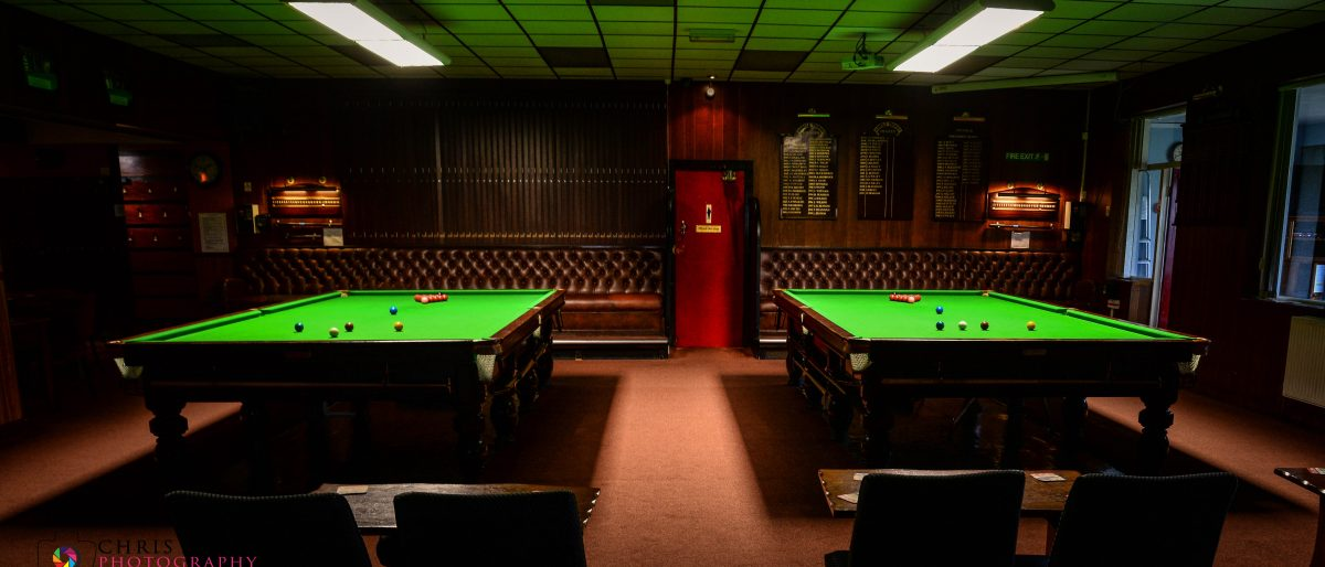 Snooker Room at Norbreck Club