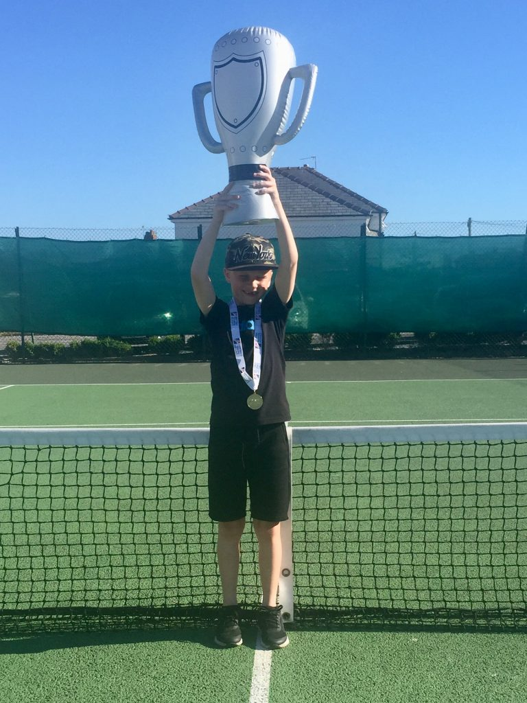 Norbreck Bowling and Tennis Club Orange Summer Slam Winner
