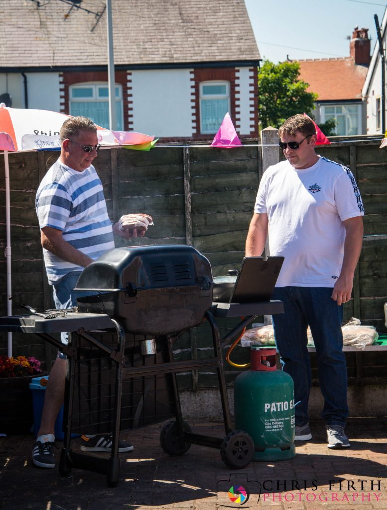 Club Day 2018 - Lee and Mark on the BBQ