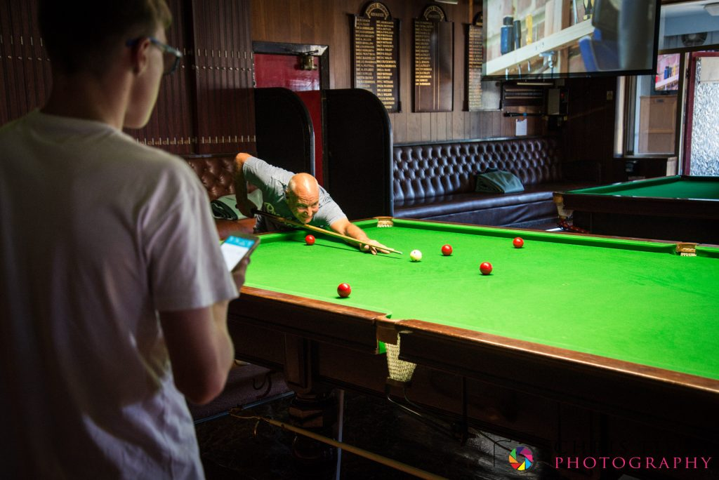 Snooker Games at Norbreck Bowling and Tennis Club
