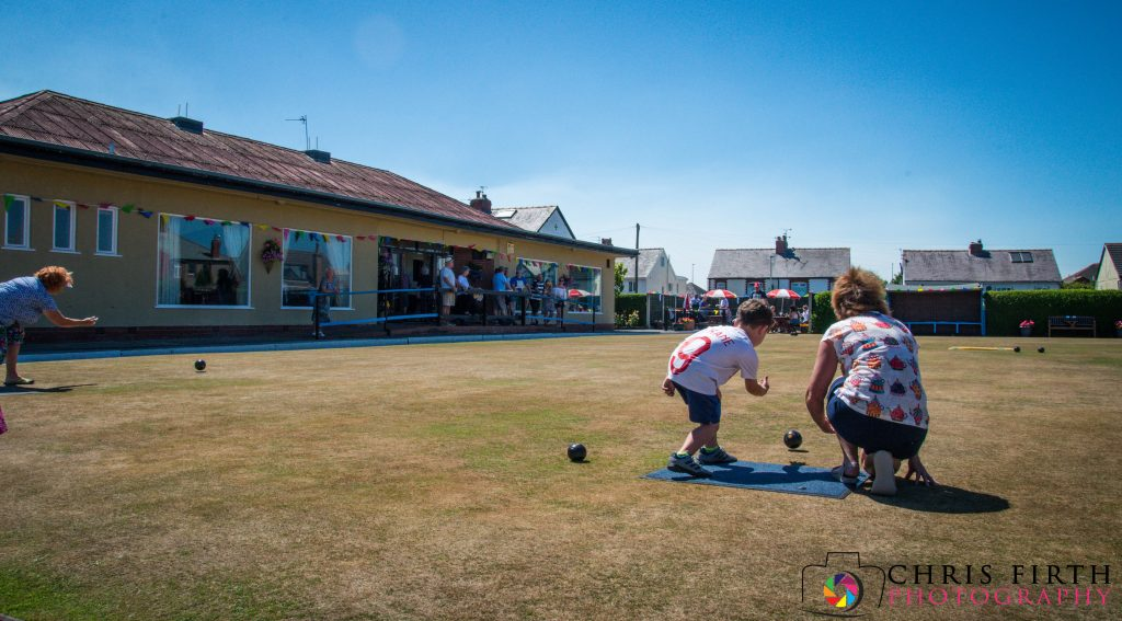 Junior Target Bowls at Norbreck Bowling and Tennis Club - Club Day 2018
