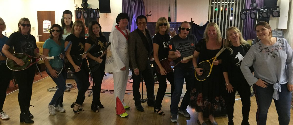 Elvis Charity Night with Prime Mover at Norbreck Cliub