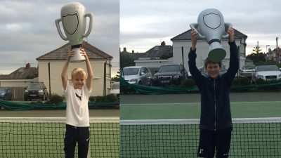 Harry and James Double Win at Norbreck Club