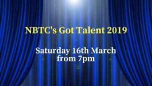 NBTC Got Talent 2019