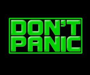 Don't Panic Band Logo