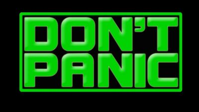 Don't Panic Band Logo