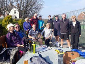 Tennis Tournament Sun 7th April 2019