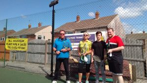 Doubles winners at Norbreck Club