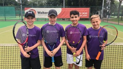 Norbreck Club Tennis Team Under 14s