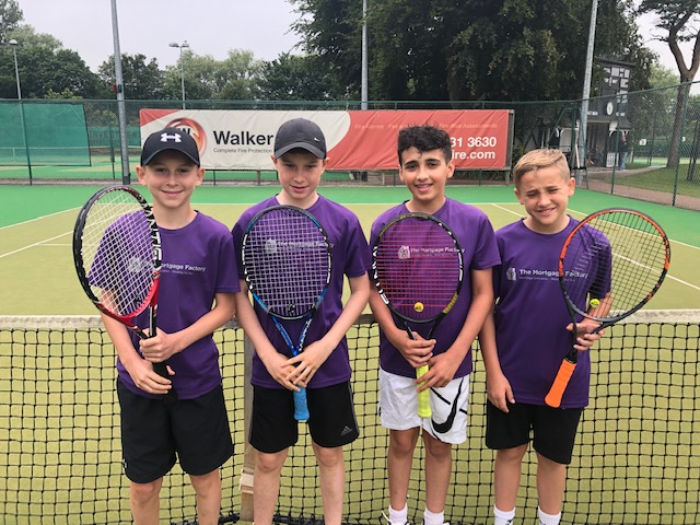 Norbreck Club Tennis Team Under 14s