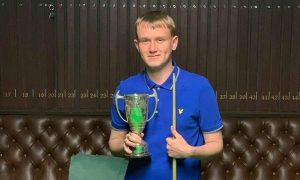Joshua Duckworth - Hindle Trophy winner 2019
