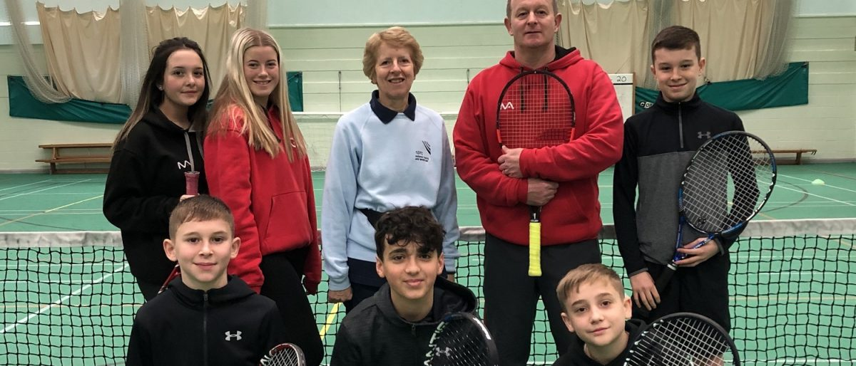 Tennis Coaching Team at Norbreck Bowling and Tennis Club for 2020