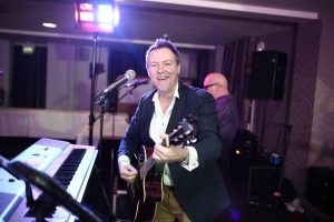 Ian Hooper performs at Norbreck Bowling and Tennis Club Feb 2020
