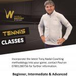 Tennis Coaching at Norbreck Bowling & Tennis Club, Blackpool