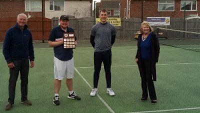 Dominic McVittie wins 2020 Steve Campbell Memorial Tennis Trophy, Norbreck, Blackpool
